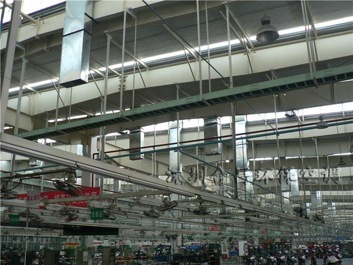 本田摩托車廠房降溫工程